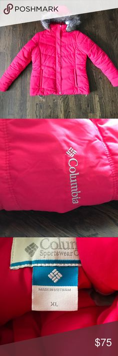 Columbia down jacket Like new Columbia down jacket. Worn once.  Super warm. Columbia Jackets & Coats Puffers