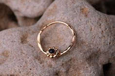 SEPTUM RING / Ear /Cartilage 16 Gauge Gold filled with Black Onyx. Handcrafted from BensJewelryCreations on Etsy. Septum Piercing Jewelry, Cartilage Earrings, Ear Piercings, Septum Ring, Septum Clicker, Body Jewellery, Custom Jewelry, Black Onyx, Jewelry Accessories