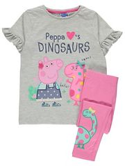 Dresses Kids Girl, Cute Girl Outfits, Kids Outfits, Peppa Pig Outfit, Peppa Pig Clothes, Frock Design, Pink Leggings, Cute Girls, To My Daughter