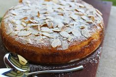 food on paper: Flourless Orange and Almond Cake