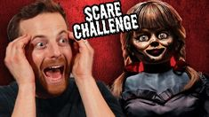 It's payback time! This time Ned's getting surprised with HIS worst nightmare. How long will he last in this try-not-to-SCREAM horror movie challenge? Try Guys, Documentaries, Halloween Face Makeup, Challenges, Lol, Fun