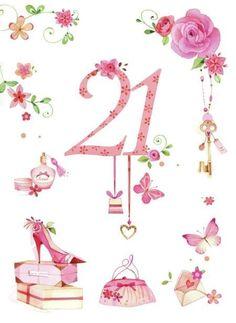 25 Beste Idee 235 N Over 21ste Verjaardag Kaarten Op