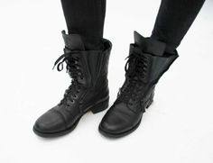 I have worn my Chanel combat boots more than any other boot this fall!