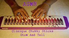 ASMR ~ Clinque Chubby Sticks Show & Tell ~ Whispered