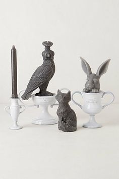 Grey's Menagerie -- Vallons Trophy Candles from #anthropologie #pintowin