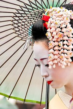 gueisha kanzashi