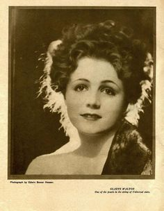 Gladys Walton was an American actress of screen and stage.    Movies: The Trouper, The Wise Kid) 1903-93