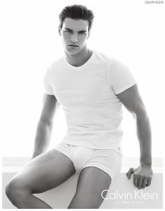 Matthew Terry Models Calvin Klein Underwear for Latest Brand Images image Matthew Terry Calvin Klein Underwear 007