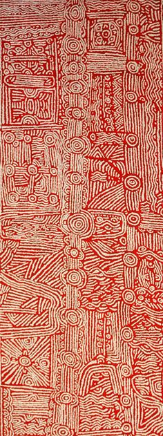 Lorna Brown NAPANANGKA_Untitled #aboriginal #aborigene #contemporain