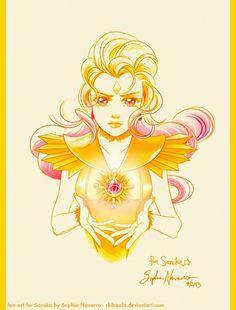 Sailor Galaxia Art Trade for Saniika by ChibiSofa on DeviantArt Sailor Moon Villains, Sailor Moon Art, Wise Animals, Moon Drawing, Sailor Scouts, Awesome Anime, Manga, Magical Girl, Animation