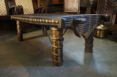Ox Cart Table / Coffee Table / Raj Style / by StoneHouseArtifacts