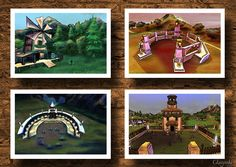 Lumber Mill, Creature Pen, Worship Site and Nursery