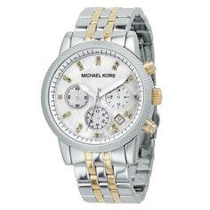 b05fd39e2 Michael Kors Women's MK5057 Ritz Watch, Size: 37mm, Gold Zegarki Rolex,  Zegarki