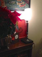 Antiques Atlas - Art Deco Consol Or Desk Lamp In Chrome Material: chrome Condition: Good Origin: French Circa 1930