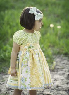 Traumhaftes+Kleidchen+Sommer+Farben+Gr.74+-+116++von+California-Kids+auf+DaWanda.com