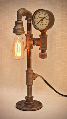 Adorable Miniature 11 tall Steampunk by SteveGallagherLamps