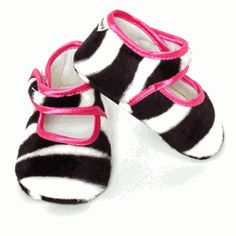 Zoe Zebra Baby Shoes-Product Code : zoezebras  Retail price : $12.00  Availability : Usually ships in 2-3 business days  Brand : Baby Bella Maya