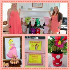 Princess Peach Baby Shower | The Gingerista