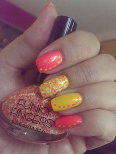 Funky Fingers in All the Rave, Alex's Lemonade and Glitter Matters.