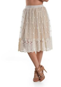 Daisy Lace Skirt | SexyModest Boutique