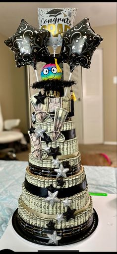 Money Creation, Money Cake, Way To Make Money, Captain Hat, Graduation, Deco, Creative, Gifts, Presents