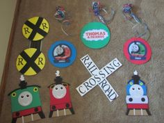 Thomas decorations.