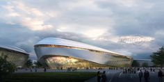 Zhaoqing Olympic Sports Center on Behance