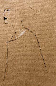 "Saatchi Online Artist: April Oh; Colored Pencils, Drawing ""bob"""