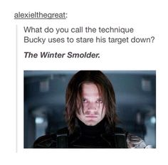 The winter smolder