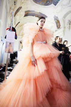 Go Backstage At Paris Haute Couture, Where Fashion Fantasies Come to Life Photos | W Magazine
