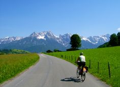 """Austria! Bike the home of """"The Sound of Music"""", hike the beautiful Salzach Valley, and soak up the views of this breathtaking place as you paraglide over it."""