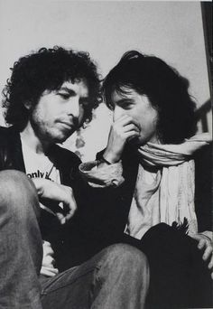 Bob Dylan and Patti Smith
