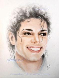 Michael Jackson. Smile. by zimnika7 on deviantART