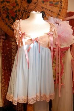 BOTTICELLI'S VENUS – Babydoll Dress Cult Party Kei http://www.lovechildboudoir.com