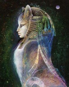 Waldorf ~ 5th grade ~ Ancient Egypt ~ Bast ~ Ancient Egyptian Cat Goddess