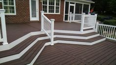 Composite decking is a great investment. Choose from: AZEK, Trex, Timber Tech, and more.