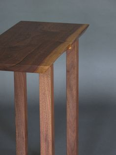 modern wood table a narrow side table entry console table narrow hall table solid wood furniture handmade in the usa pinterest narrow hall table