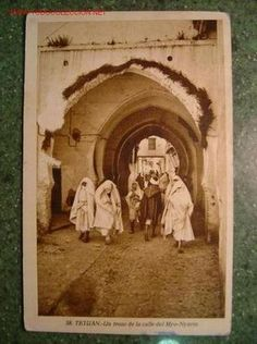 Tetuán, postal, Un trozo de la calle del Myo-Nyarin, 4'50 € hasta el 1 de abril, El Atril
