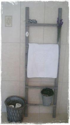 Notre de maison: DIY - stige til badet!