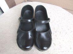 Dansko women shoes 43 / 12-12.5 Black Leather #Dansko #MaryJanes #Casual
