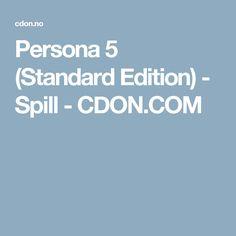 Persona 5 (Standard Edition) - Spill - CDON.COM