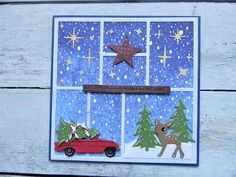 Maria's kaartjes: Weer terug.... Christmas Cards, Christmas Ornaments, Marianne Design, White Christmas, Layout, Have Fun, Holiday Decor, Scrappy Quilts, Greeting Card