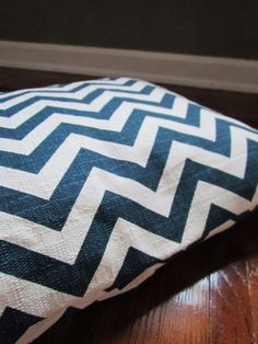 Ready to Ship Dog Bed Chevron/Zig Zag Pet Duvet by TheOliveCrow
