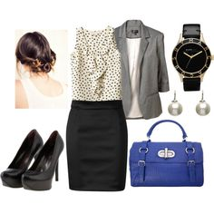 Office Look-6, created by liv8up on Polyvore