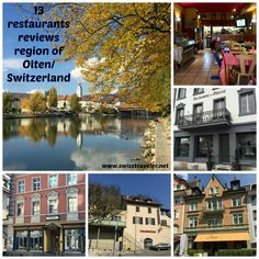 Olten/Switzerland: the small town of Olten in the Swiss Mittelland has a lot to offer in terms of culinary delights - so far 13 restaurants reviewed