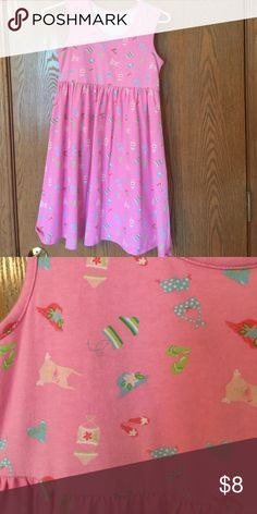 Beach themed sundress Adorable cotton sundress with beach theme. Worn only once or twice Gymboree Dresses Casual
