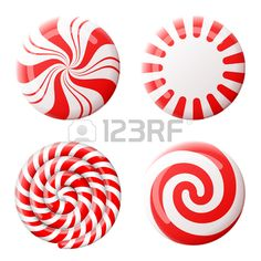 striped peppermint candies without wrapper. qualitative vector design element for christmas new year's day winter holiday dessert new year's eve food silvester etc Gingerbread Christmas Decor, Candy Land Christmas, Candy Christmas Decorations, Grinch Christmas, Easy Christmas Crafts, Christmas Makes, Disney Christmas, Simple Christmas, Christmas Holidays