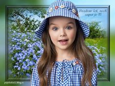 Deti-obrázky « Rubrika   Obrázky pre radosť Anastasia Knyazeva, Girl With Hat, Beautiful Models, Cute Girls, Crochet Hats, Image, Fashion, Kids, Knitting Hats