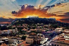 Αθήνα  και η  Ακρόπολη...Μαγεία..!!!