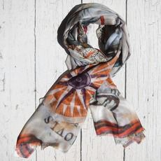 CASHMERE NAUTICAL WORLD DIGITALLY PRINTED SCARF Each large scarf is woven delicately using cashmere and modal yarn to yield the softest blend. Scarf is digitally printed in our studio in India, using timeless nautical themes. The luxurious fabric and the light-weight materials are perfect for all seasons and occasions.  ...MADE BY HOUSE OF ALVA